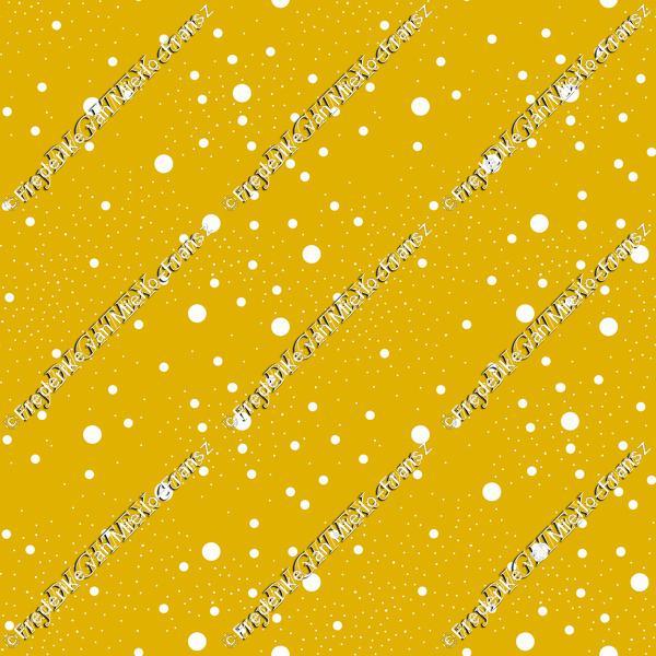 Star night yellow and white