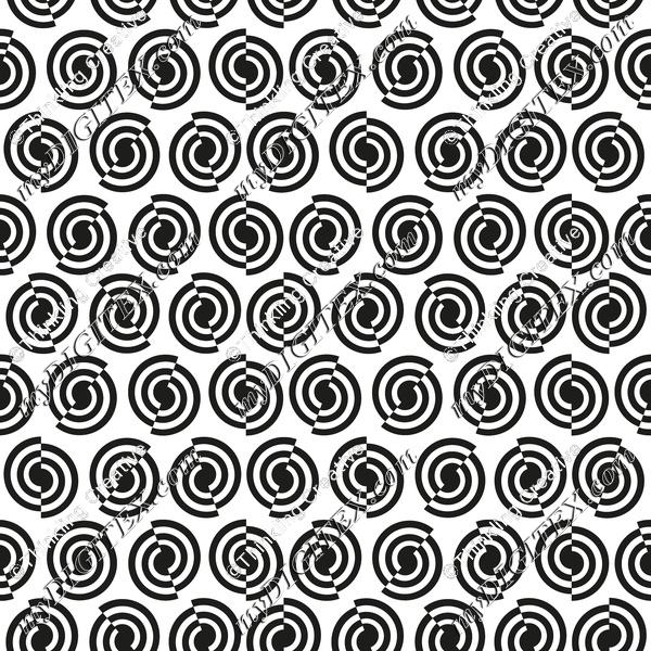 Monochrome_Geometric_circles