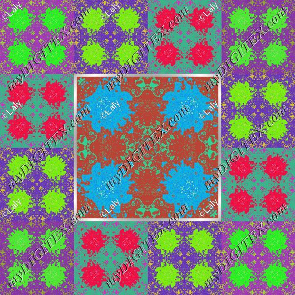 Spots in squares