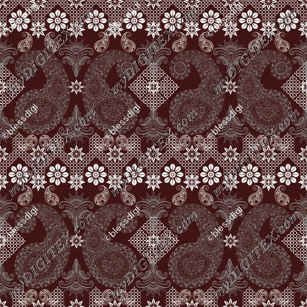 floral cross stitch