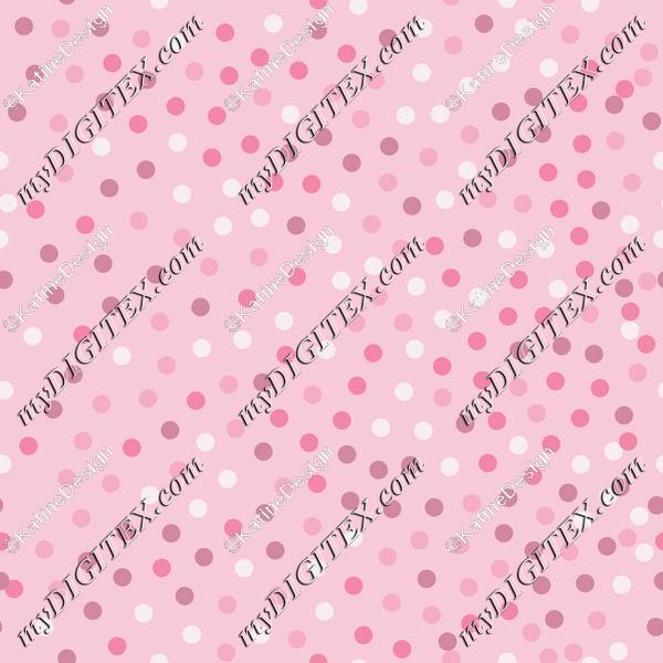 kropeczki róz confetti