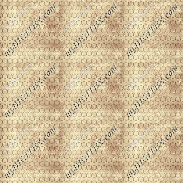 Tabletop Game Mats Hex Parchment