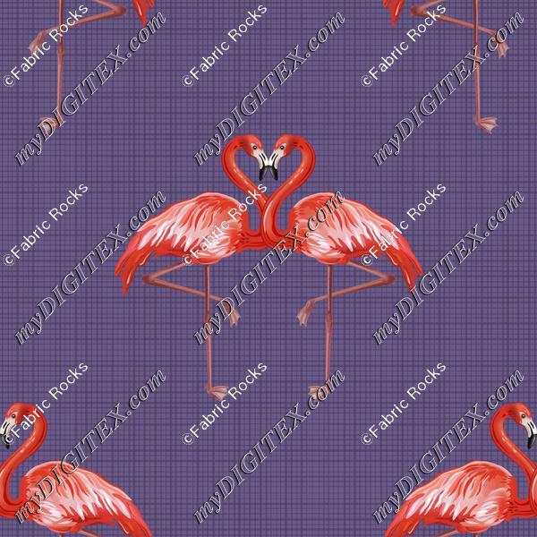 Flamingo Lovers Linen Look
