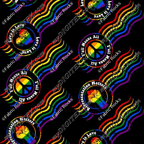 Pride Postmarks (diagonal)