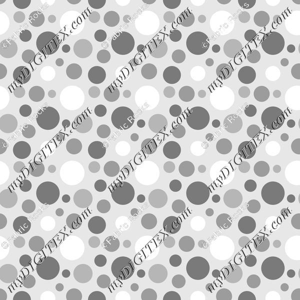Soft Greys - Dots 1