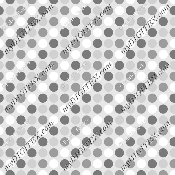 Soft Greys - Dots 2