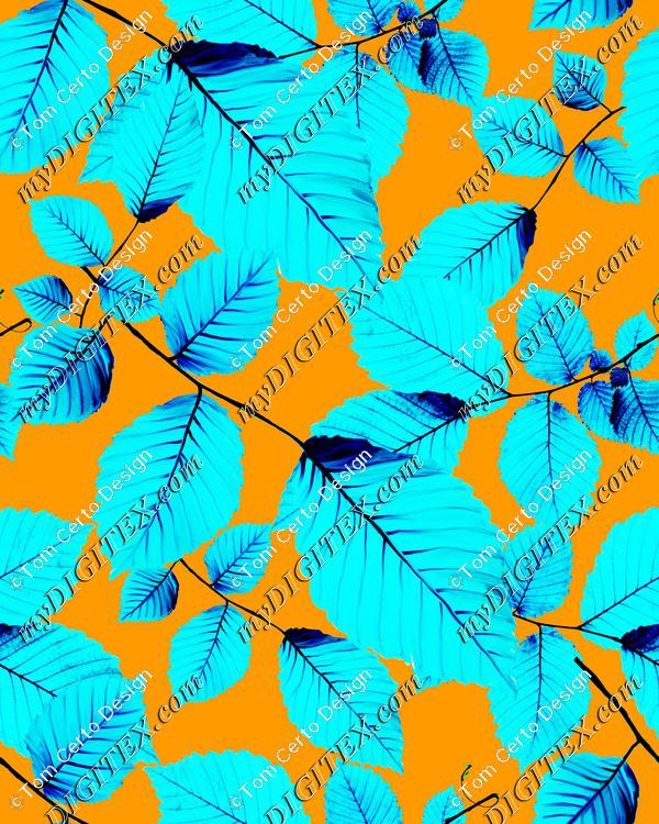 fresh leaves design