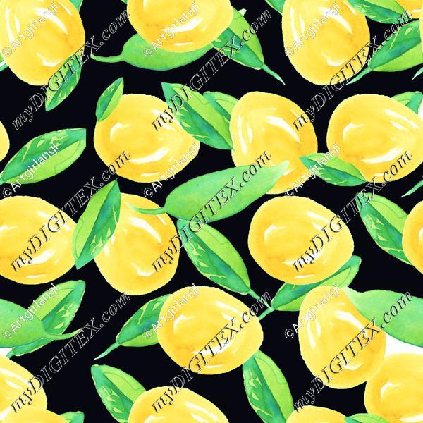 Lemons for lemonade black