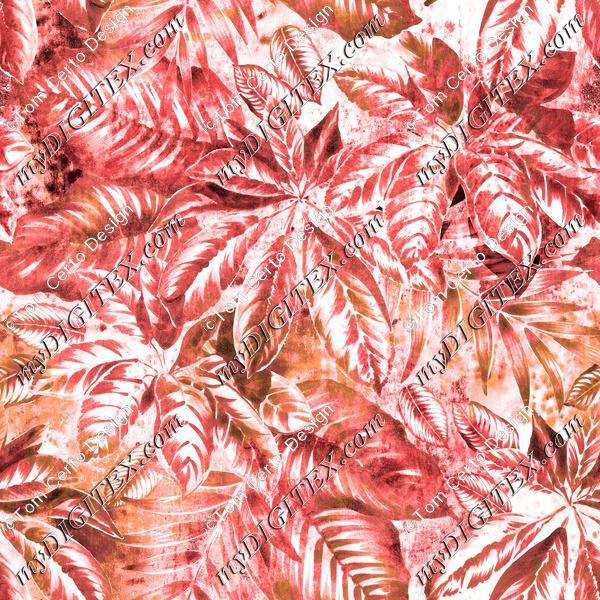 red leaves design