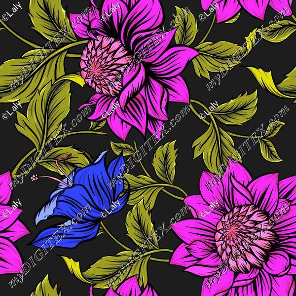 Beautiful detailed flowers