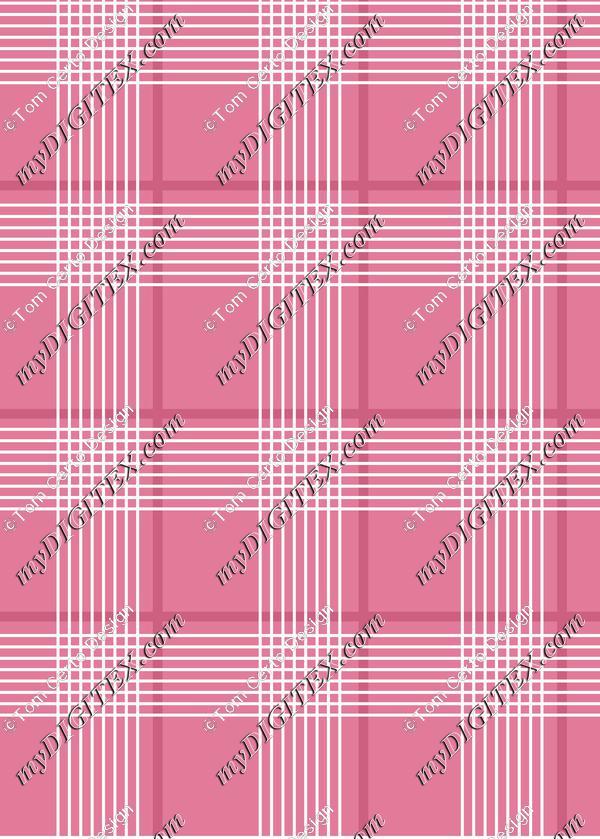 Pink chess print