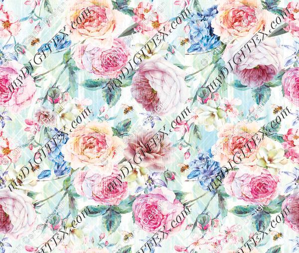 Cute floral print