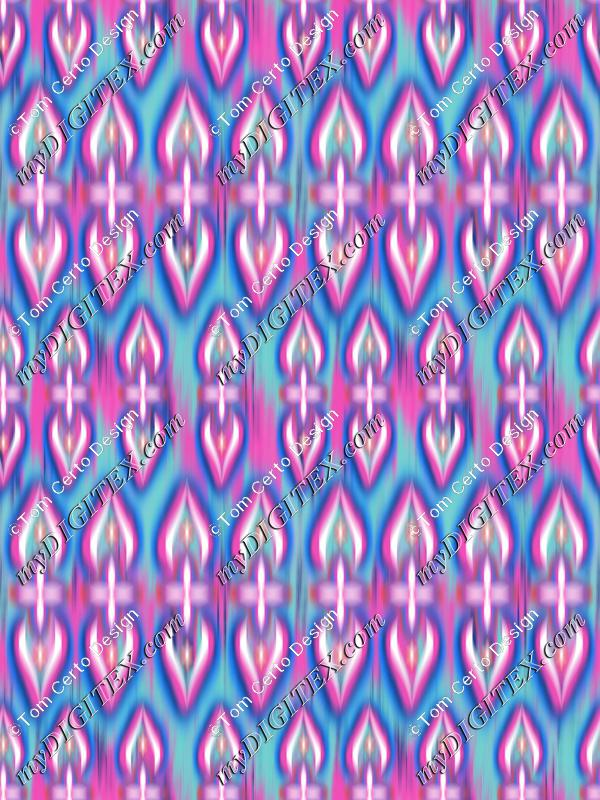 Paisley texture Fluor