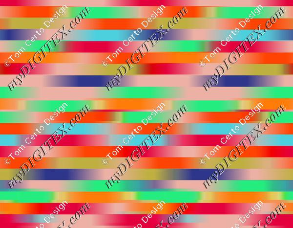 coloured print abstract