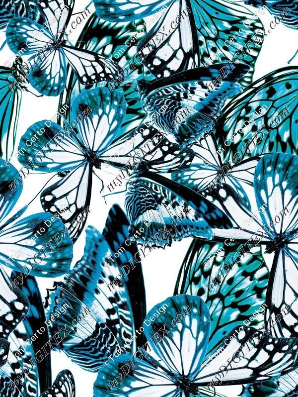 Butterfly texture animal print