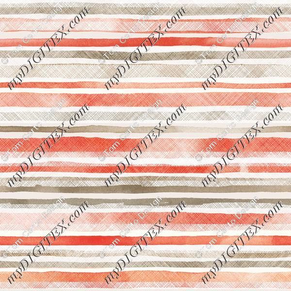 Stylized stripes print