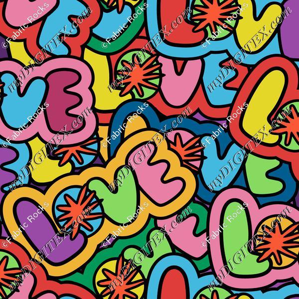 Love Splot (half drop)