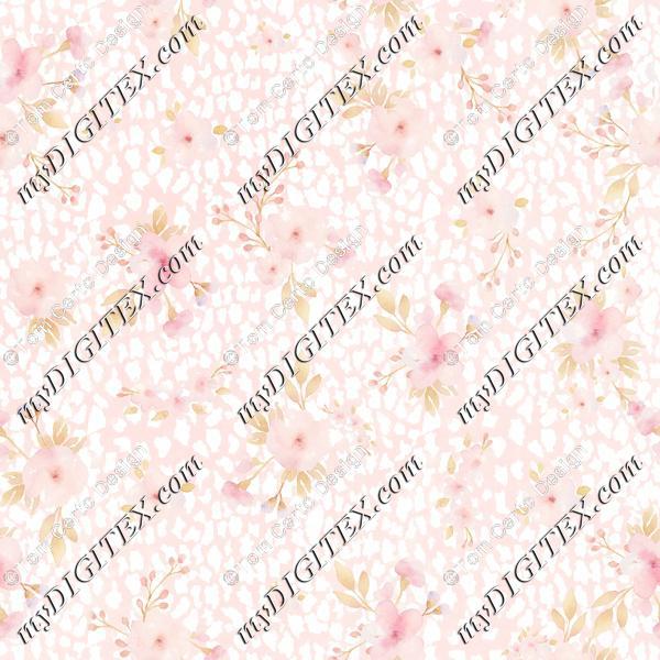 Cozy watercolour print floral