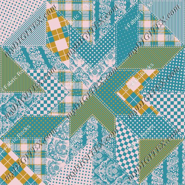 Cheater Quilt (Joy Palette)