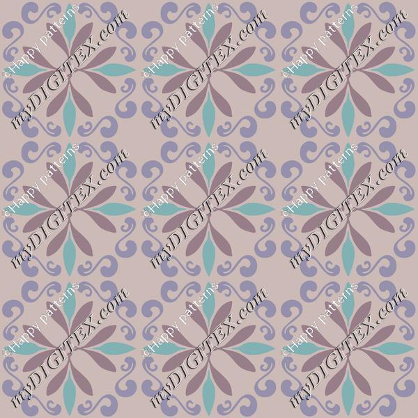 Pastel Moroccan Ceramic Tiles