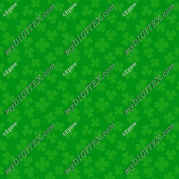 Clover green pattern