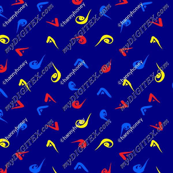 Mondrian - Blue