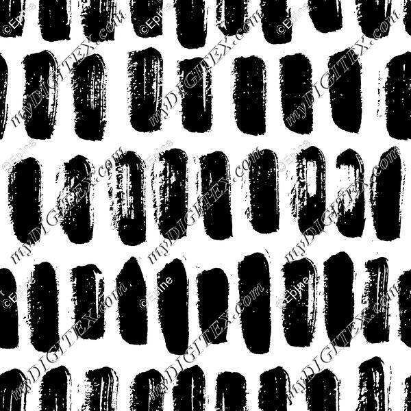 Modern ink brush pattern