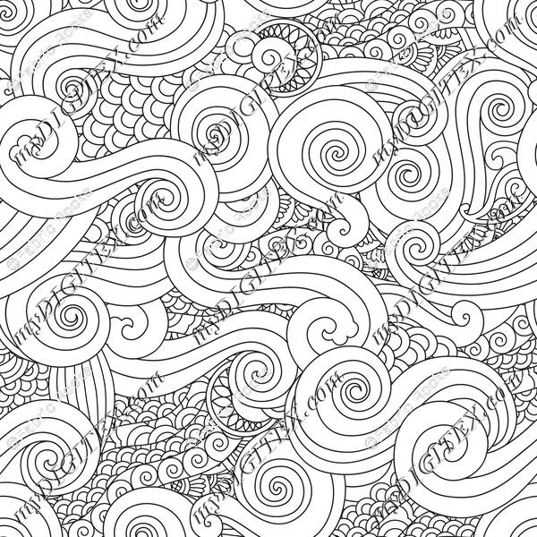 Waves Coloring