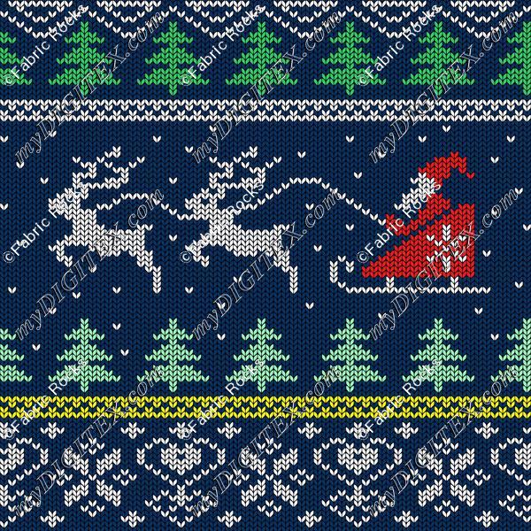 Santa Sleigh Sweater