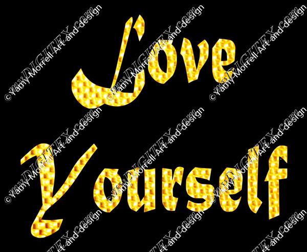Love yourself Golden