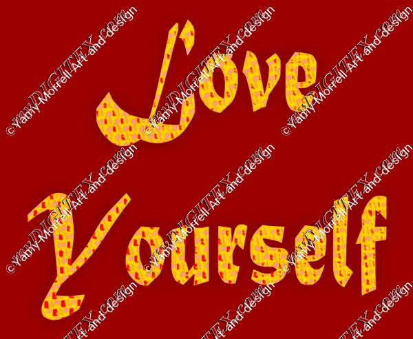 Love yourself-Red