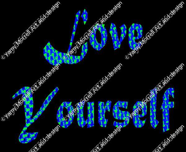 Love yourself-Blueblack