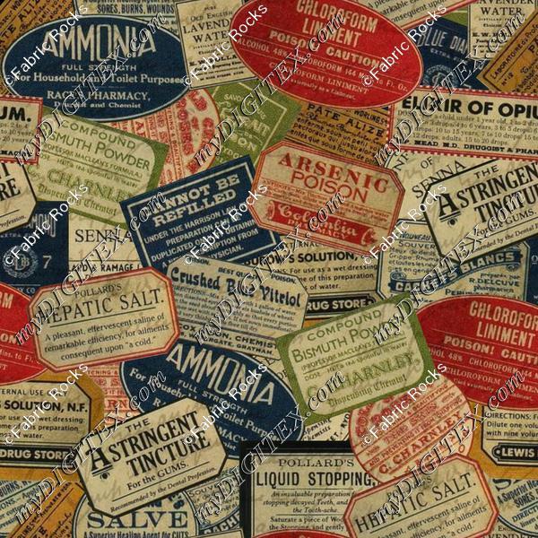 Vintage Apothecary