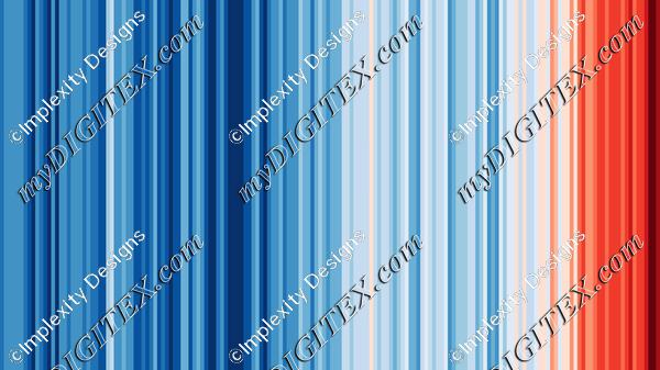 Climate Change Stripes