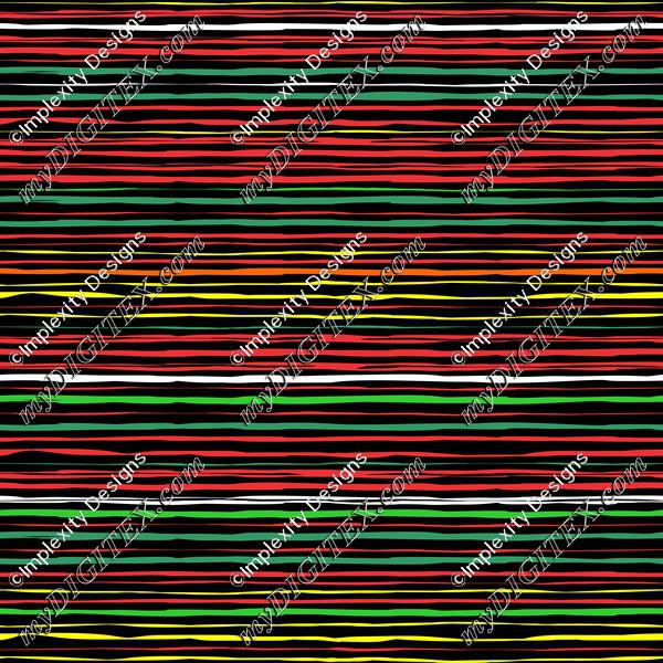 Reggae Grunge Stripes