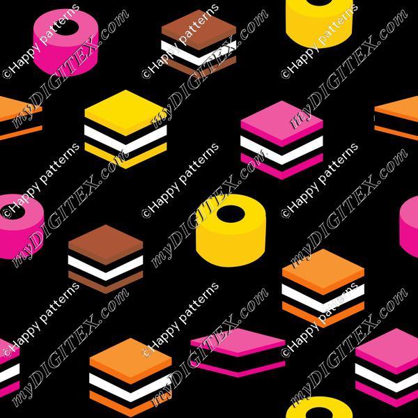 Colorfful licorice, english licorice, colorful candy