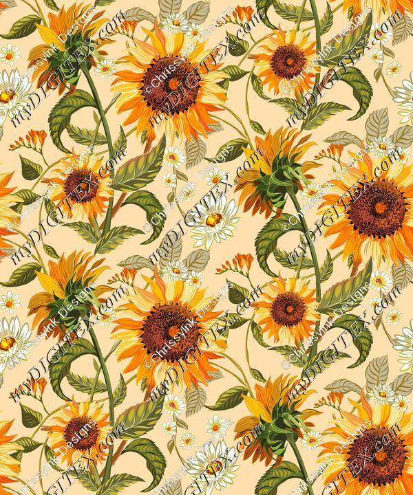 SunflowersLargeWallpaperREPEAT