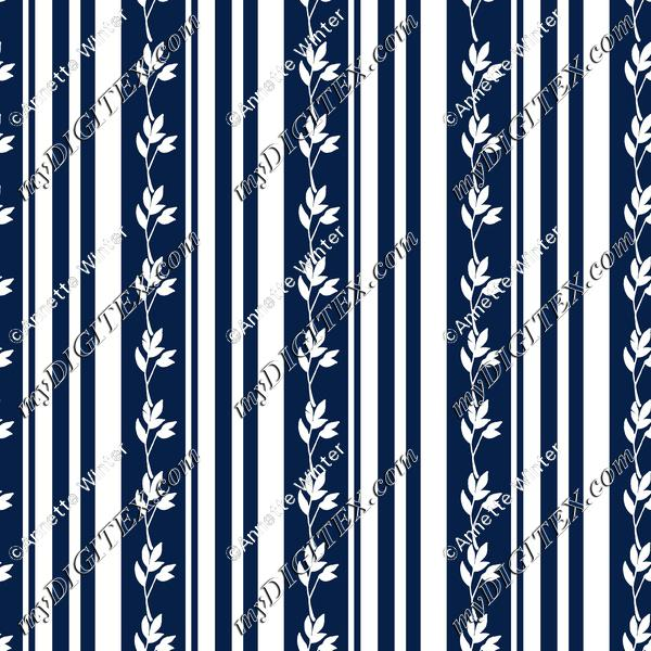 Stripes and Leaves