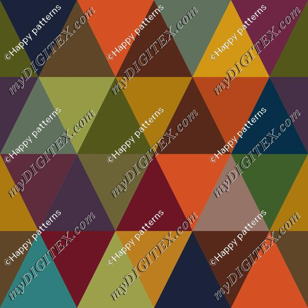Abstract Geometric Autumn, Fall Pattern