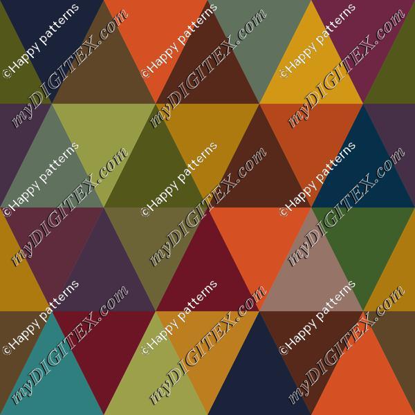 Abstract Geometric Autumn, Fall Pattern