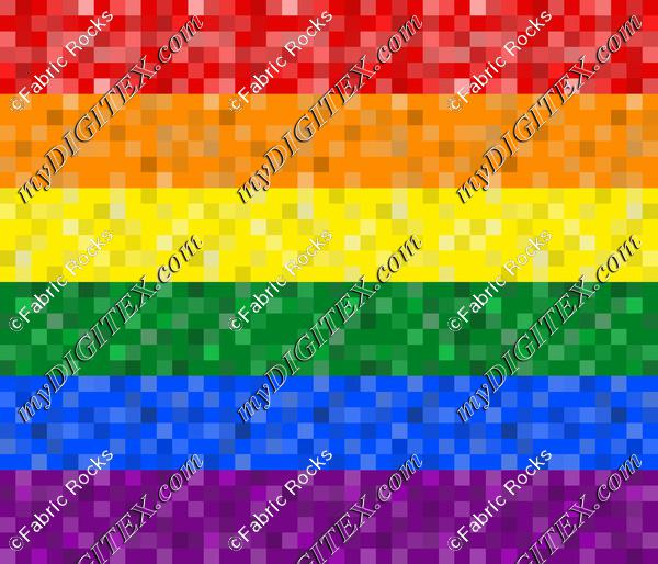 Pixelated Pride (horizontal)