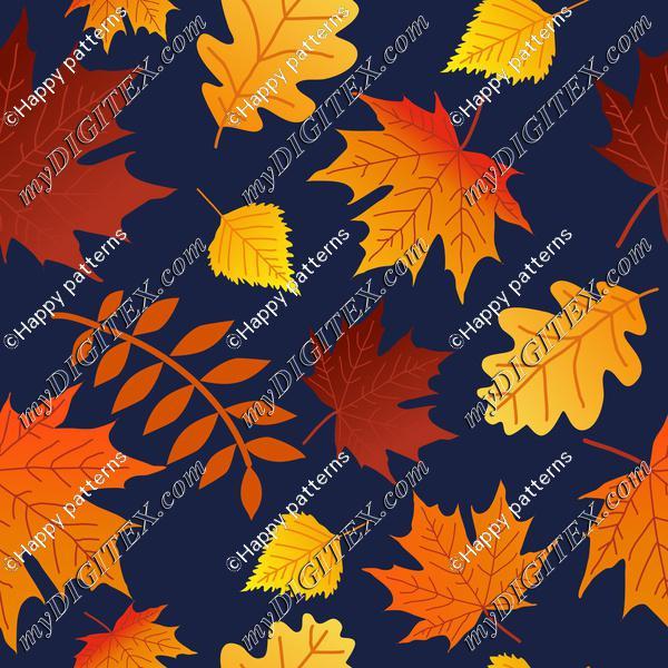 Autumn Fall Colorful Leaves on Navi