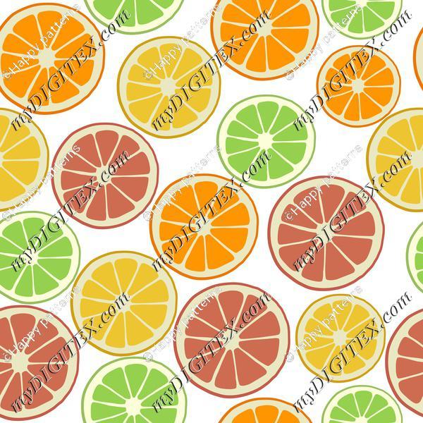 Tropical Fruit, Citrus Fruit Orange Lemon Lime