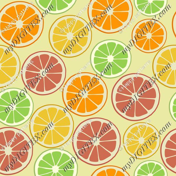 Tropical Fruit, Citrus Fruit, Orange, Lemon, Lime