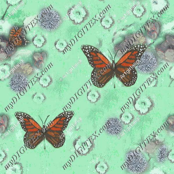 Butterflies Painted original