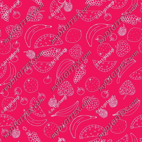 Fun Fruit in Pink