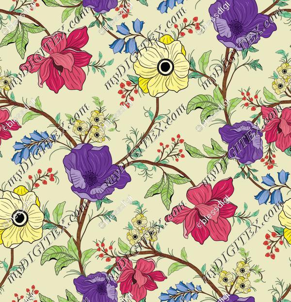 allover floral