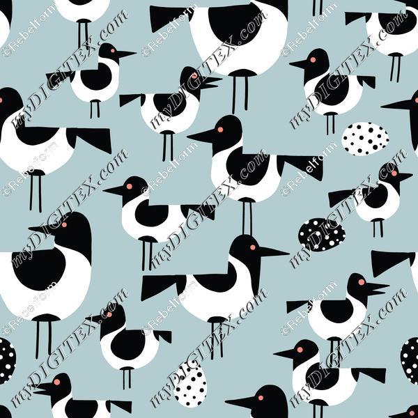Seabirds turquoise-01