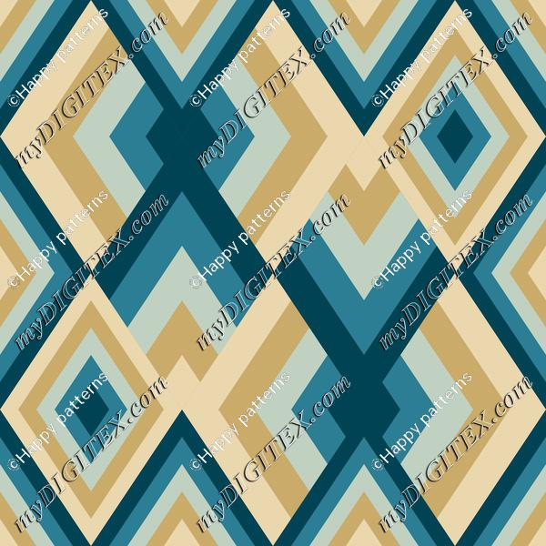 Abstract gemetric pattern in soft winter colors