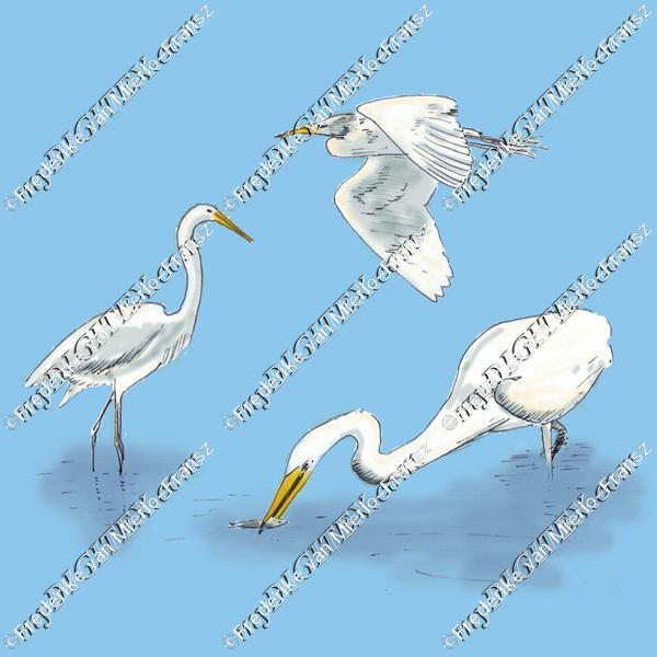 White Heron_AtelierLuckyBird